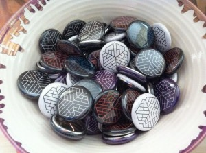 Threedom badges
